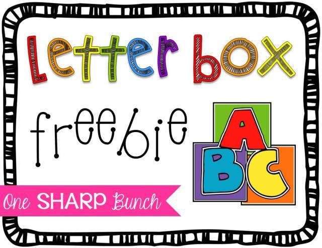 http://onesharpbunch.com/2014/09/letter-box-fun-freebie/