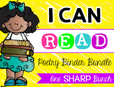 Build fluency, phonemic awareness, comprehension, and concepts or print with poetry notebooks! Everything you need to successfully incorporate poetry into your classroom!