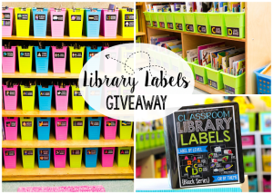Classroom Library Organization and Kinder Craze Giveaway