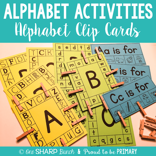 letter and sound recognition activities alphabet activities for small groups one sharp bunch 13160