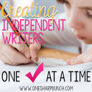 Creating Independent Writers