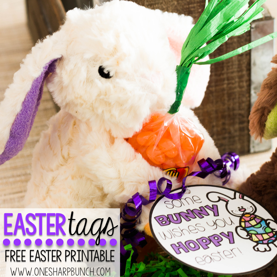 Free printable easter tags to wish some bunny a hoppy easter free printable easter gift tags use these free easter tags to wish some bunny a negle Images