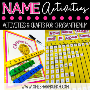 Name Activities Using Chrysanthemum