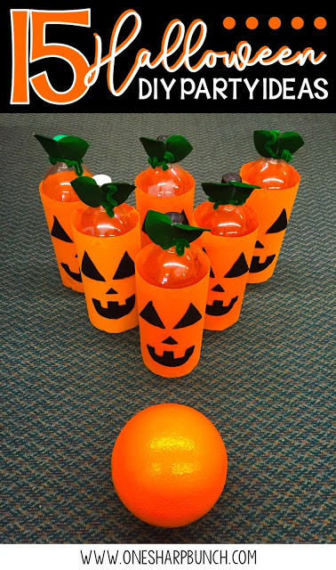 Simple DIY Halloween party ideas for the classroom, including Halloween games, Halloween crafts and Halloween food ideas! Whether you are a seasoned teacher, first year teacher or seasoned room mom, keep your little goblins engaged and your classroom Halloween party well-managed! Don't forget to check out the vampire Halloween candy boxes, the perfect Halloween treat bag for all of your Halloween treats!
