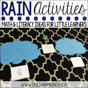 Rain Activities for the Classroom