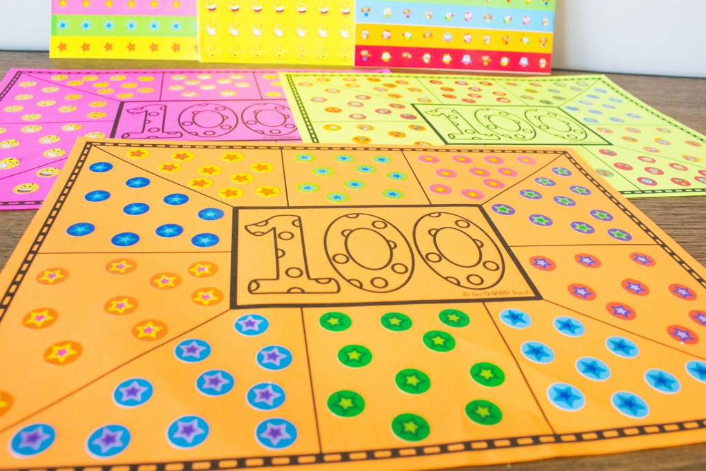 Celebrate the 100th Day of School with these engaging fine motor activities for kids! Your kiddos are sure to have a blast with these 100th Day of School activities on the 100th Day of Kindergarten!