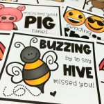 8 FREE Miss You Cards for kids! Thinking of your students during the COVID-19 Coronavirus pandemic... send them one of these thinking of you miss you cards!