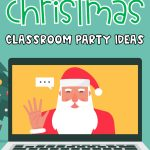 With a mix of remote learning, in-person instruction and hybrid learning, teachers are getting creative with keeping their virtual learning students engaged during the holiday season.Finding virtual Christmas games and virtual Christmas activities that are the perfect balance of educational and fun can be a challenge.Here's a list of my favorite virtual classroom Christmas party ideas that will help put your little learners in the holiday spirit even from a distance! #virtualchristmasparty