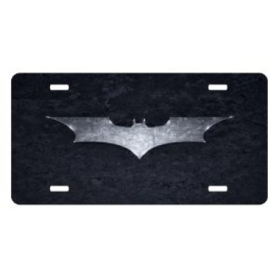 Batman License Plate Sign 6'' x 12'' New Quality Aluminum