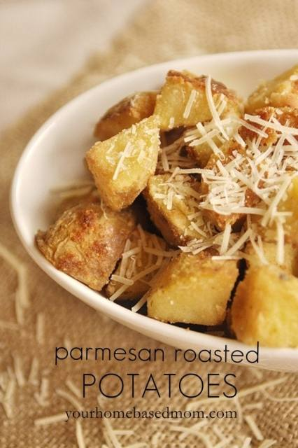 parmesan roasted potatoes@yourhomebasedmom.com