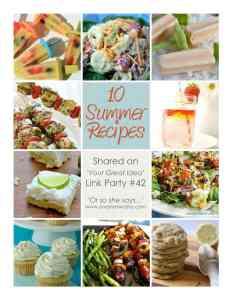 10 summer recipes
