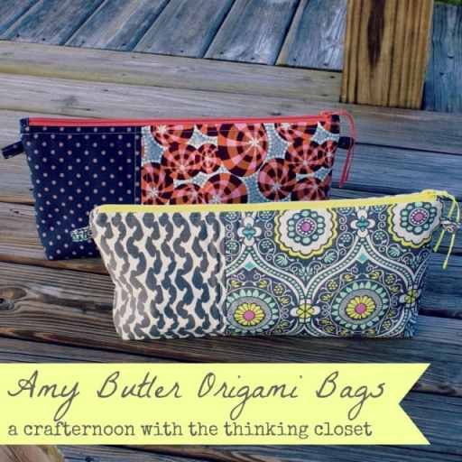 Amy Butler Origami Bags   Tips, Tricks, and Inspiration from thinkingcloset.com