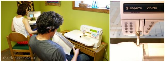 Sewing Camp at Robin's!  via thinkingcloset.com