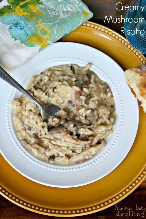 Creamy Mushroom Risotto 1 - Copy