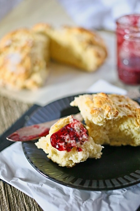 Irish Soda Buttermilk Scones from Gina @ Kleinworth & Co.