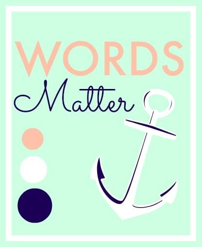 teaching kids their words matter