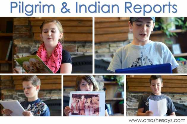 Pilgrim and Indian Reports
