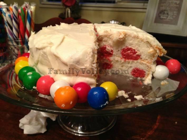 FamilyVolley.com-Polka Dot Cake