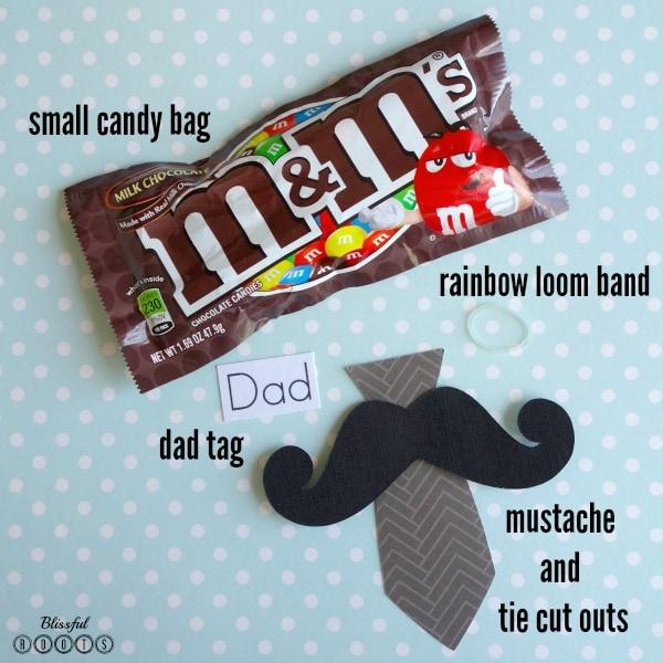 Mustache & Tie Supplies