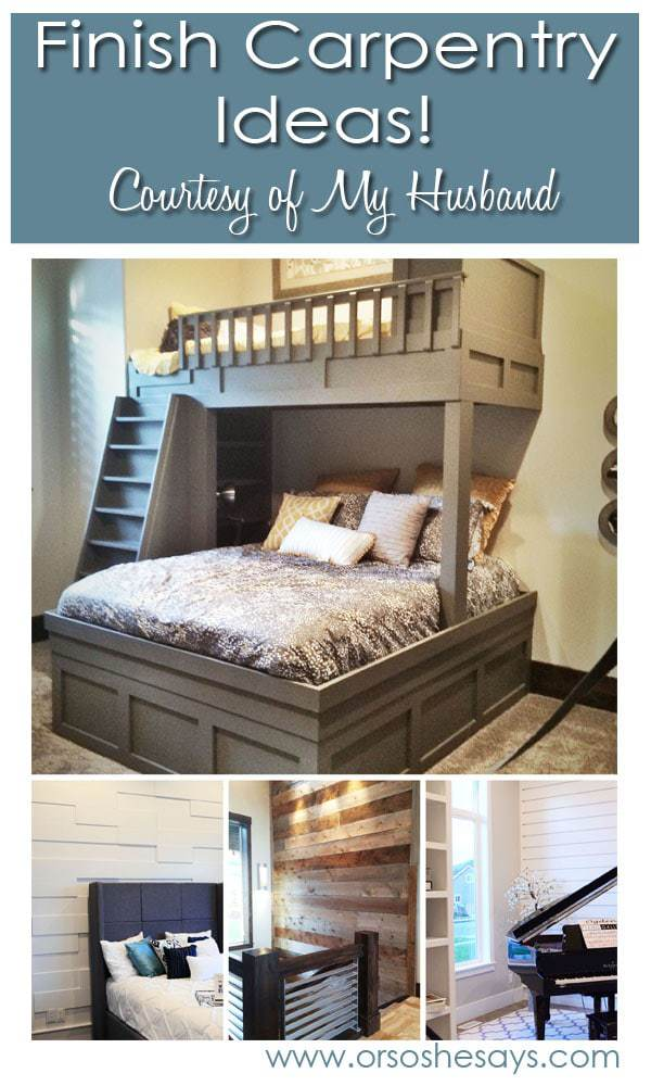 Finish Carpentry Ideas