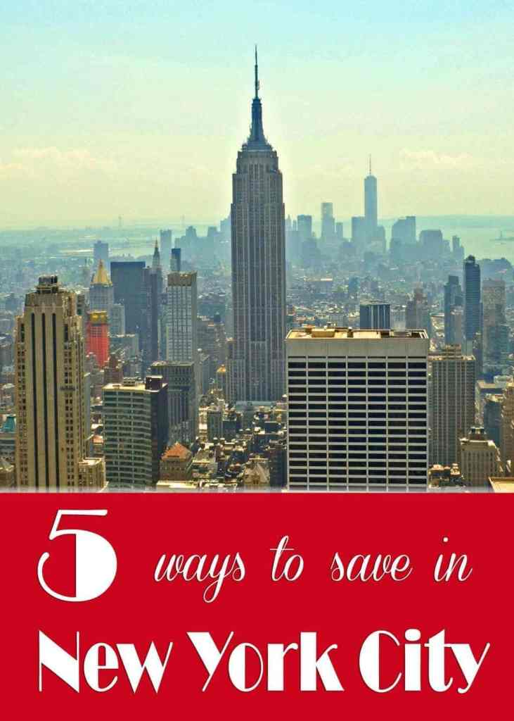 5 Ways to Save Money in New York City