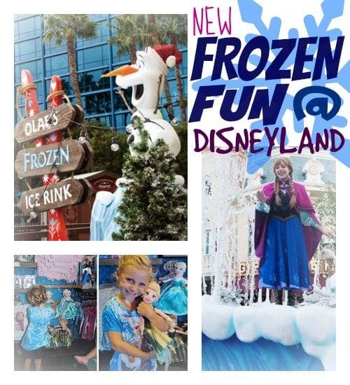 frozen at disneyland