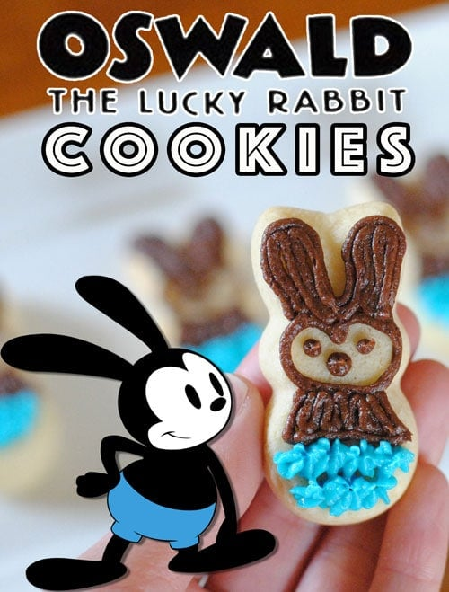 oswald the lucky rabbit cookies