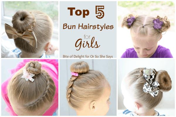 Top 5 Bun Hairstyles