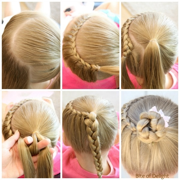 Half Crown Lace Braid | Hair Tutorial | Little Girl Hairstyles