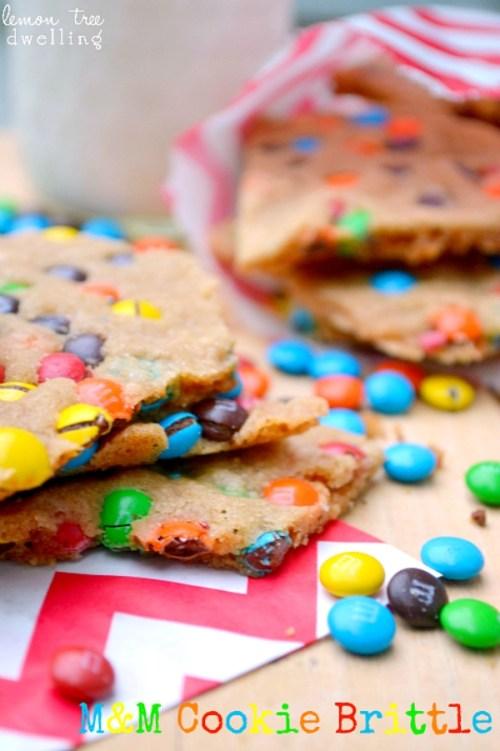 M&M Cookie Brittle & 24 Fun Summer Recipes!