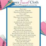 25 Ways to Use the Norwex Travel Cloth