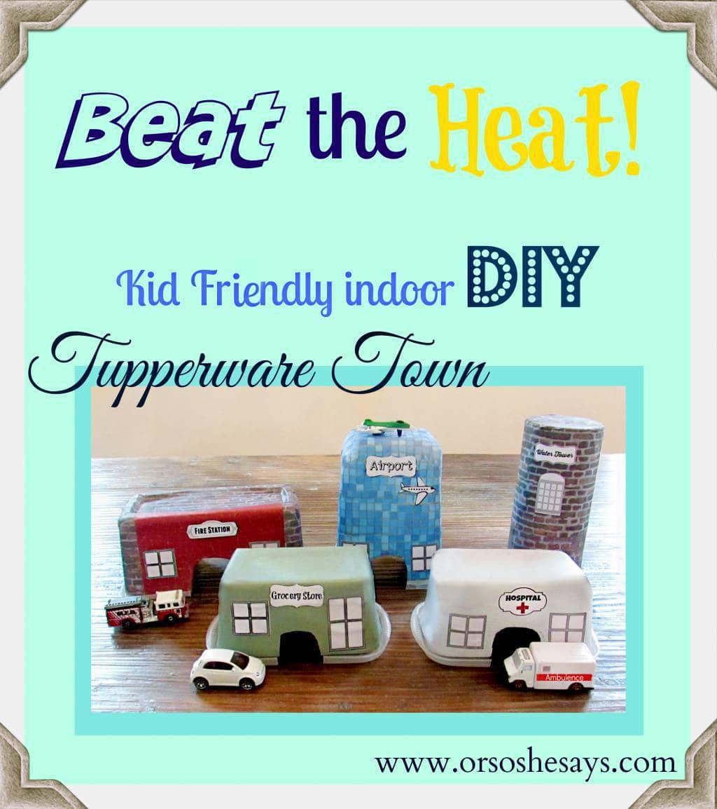 Beat the Heat: Kid-Friendly Indoor Craft