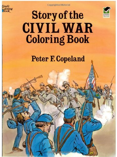 Civil War Coloring Book ~ AWESOME Products for Teaching Kids About Civil War ~ plus lots of other educational posts!