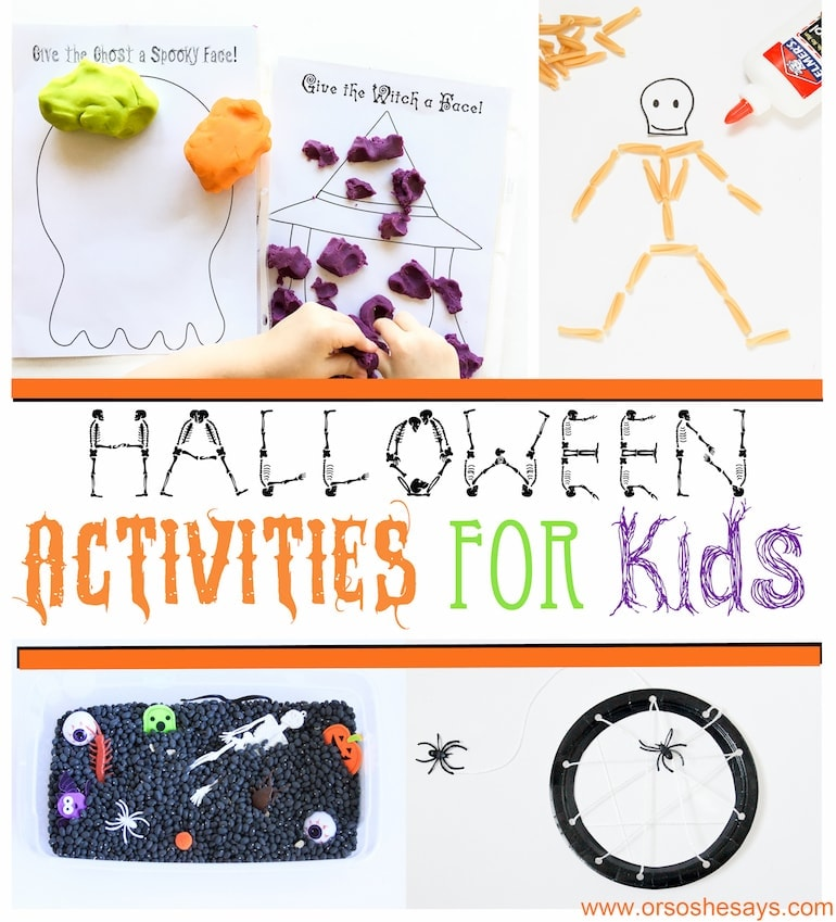 Here are some Halloween activities for kids you don't want to miss!