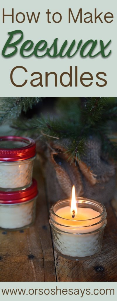 These are fun to make with kids and perfect neighbor gifts! How to Make Beeswax Candles