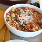 This family friendly minestrone recipe is sure to be a hit!