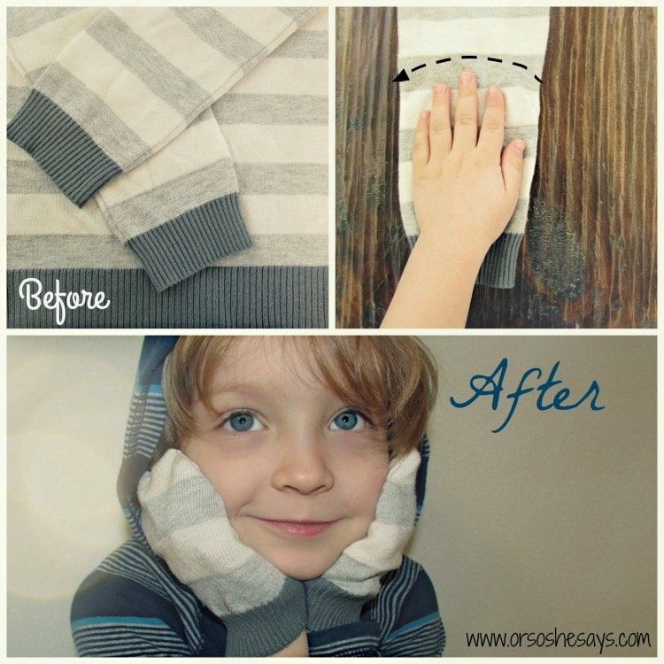 How cool and easy are these mittens made from an old sweater?? Awesome!!! www.orsoshesays.com