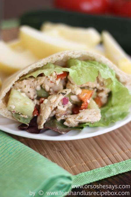 Greek Chicken Pitas (22) OSSS