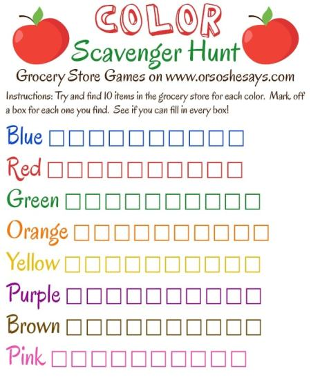 Grocery Store Games on 'Or so she says...'! This is such a fun series and a great way to keep the kiddos happy, and occupied during your grocery shopping trip! www.orsoshesays.com