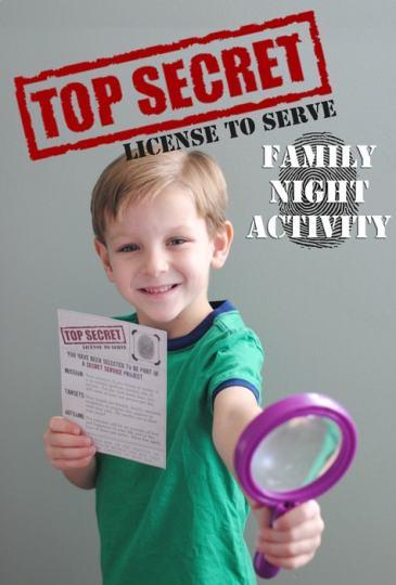 Family Night Lesson : Secret Service Mission
