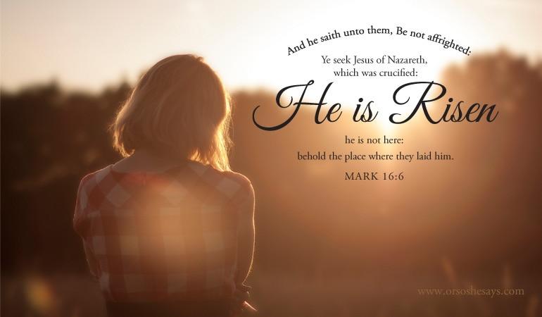 Easter Scriptures to Ponder