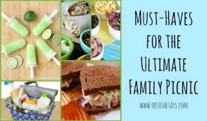 Must-Haves for the Ultimate Family Picnic - Find the round up of ideas on www.orsoshesays.com.