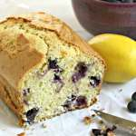 Blueberry Lemon Bread. beyondthechickencoop.com