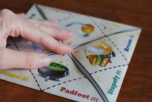 Harry Potter Printables: folding sorting hat origami