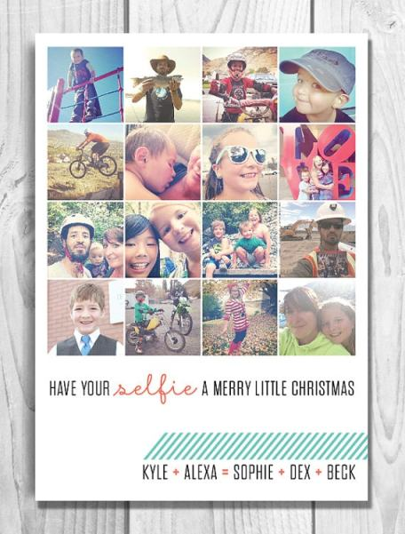 selfie-instagram-holiday-christmas-card