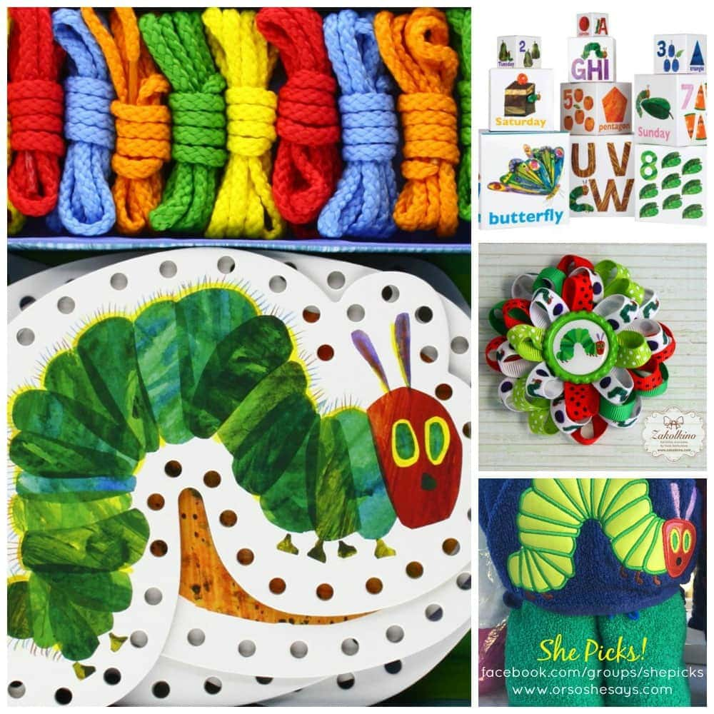 Top 16 'The Very Hungry Caterpillar' Picks ~ She Picks!