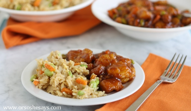 Family Meals in Minutes with P.F. Chang (she: Liz)