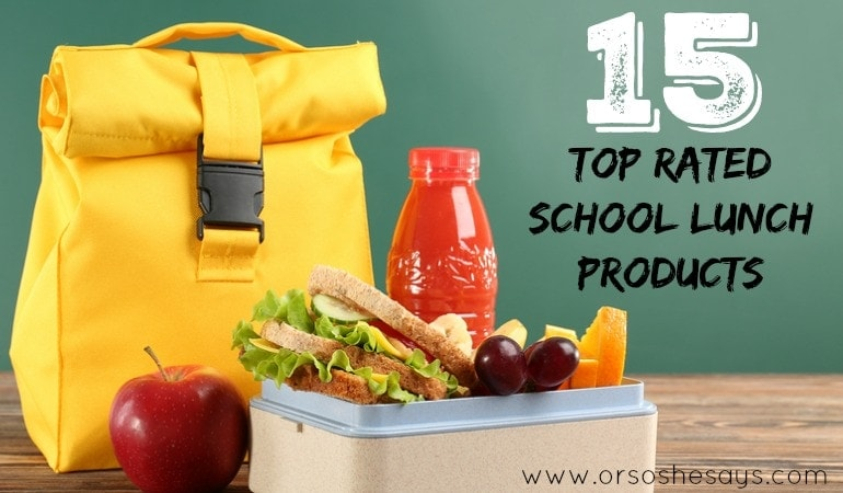 15 Top-Rated School Lunch Products