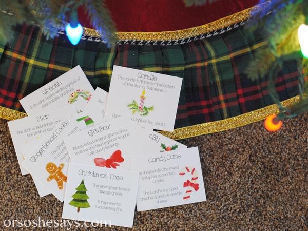 The Symbols Of Christmas Game Christmas Family Night