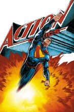 New 52 Superman (Cover of DC's Action Comics #28, by Aaron Kuder)